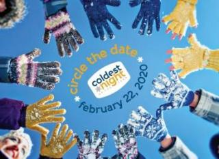 Walk with us on the Coldest Night of the Year 2020